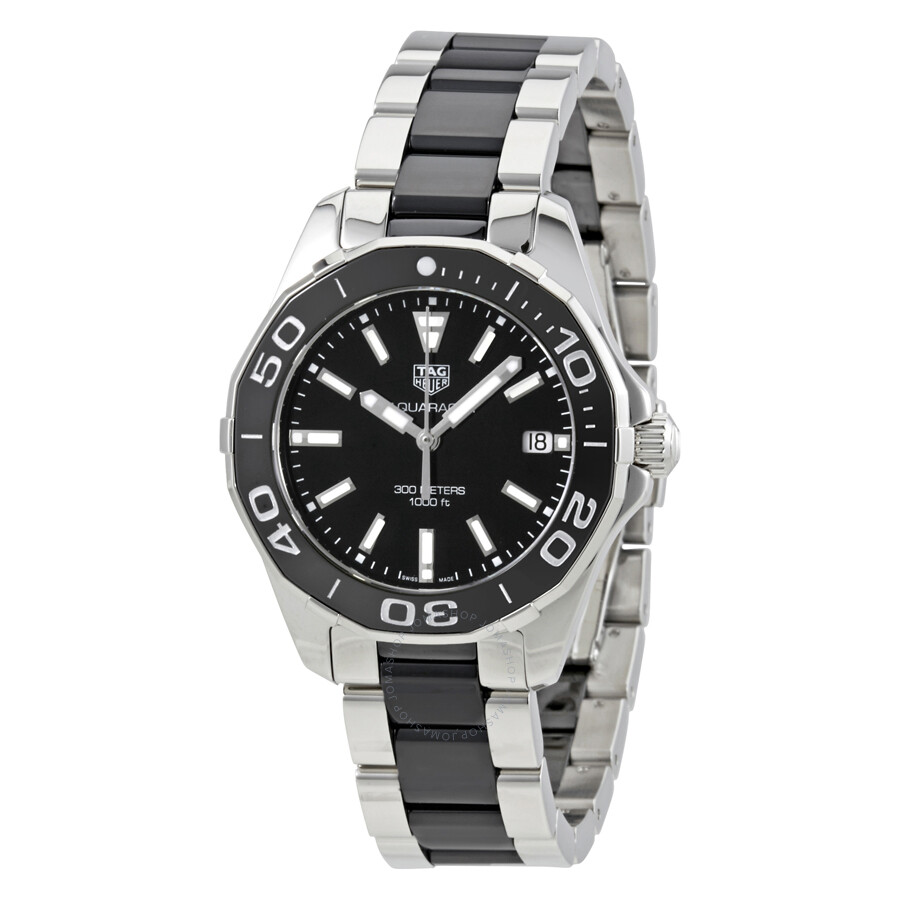 Tag Heuer Aquaracer Black Dial Ladies Watch WAY131A.BA0913 ...
