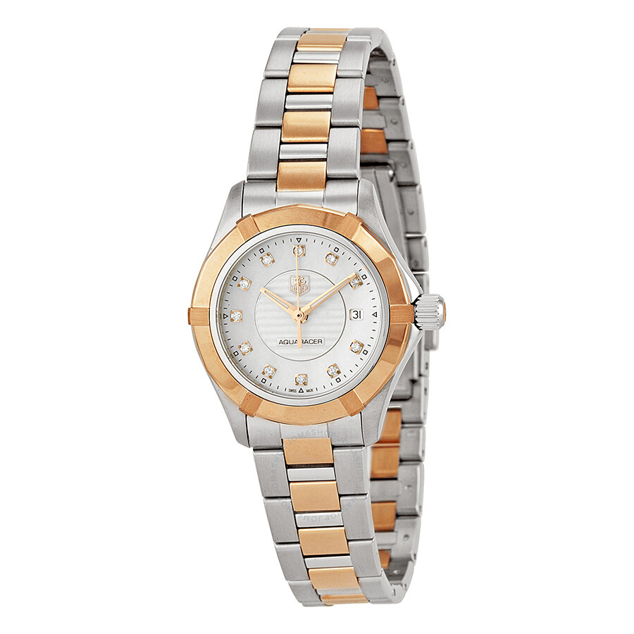 Tag Heuer Aquaracer Mother of Pearl Dial Ladies Watch ...