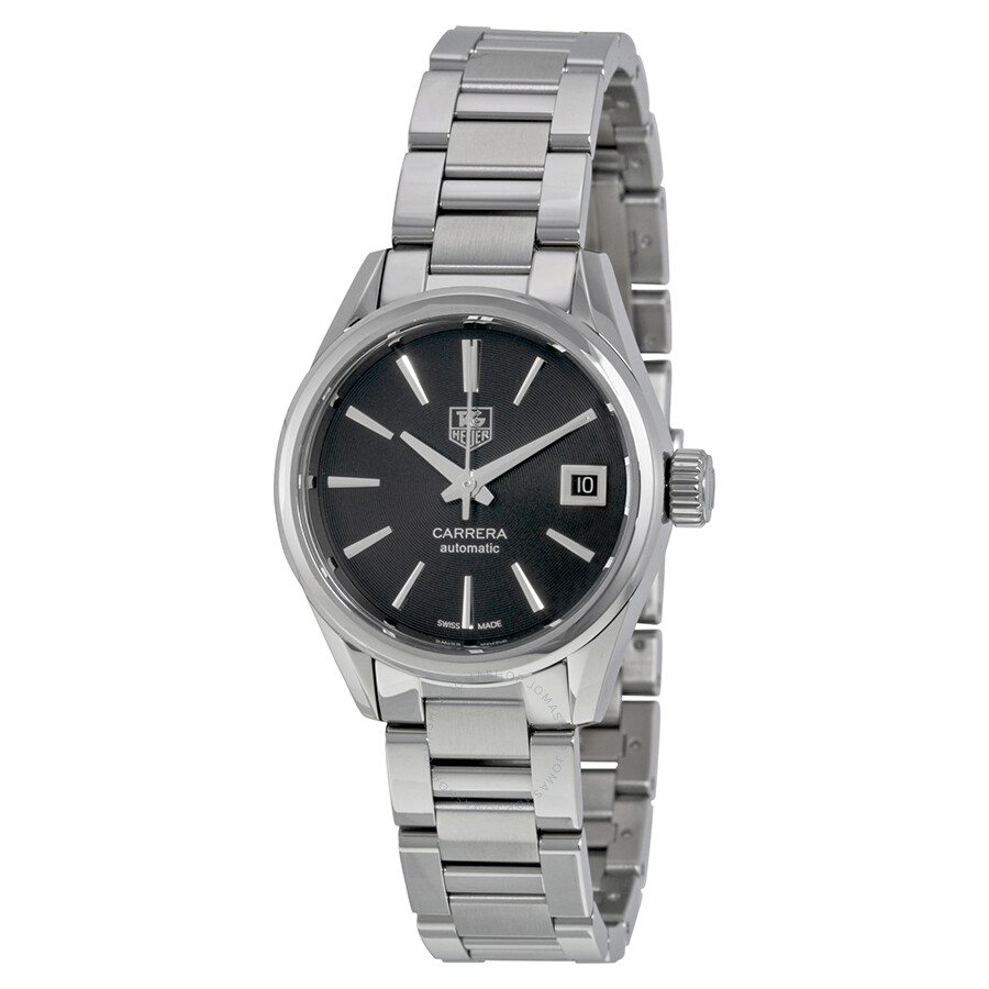 Tag Heuer Carrera Automatic Black Dial Ladies Watch ...