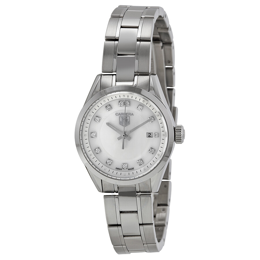 Tag Heuer Carrera Ladies Quartz Watch WV1411.BA0793 ...