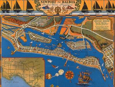 CityDig: This 1939 Map Charts Balboa Island's ...