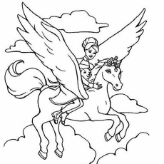 barbie coloring pages free # 16