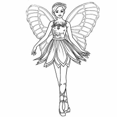 barbie coloring pages # 13