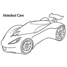 hot wheel coloring pages # 7