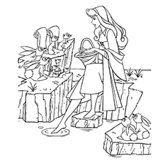 coloring pages kids fairy tale king queen # 28