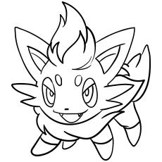 pokeman coloring pages # 3