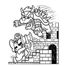 mario coloring pages online # 3