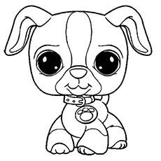 littlest pet shop coloring page # 0