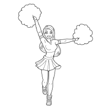 cheer coloring pages # 0