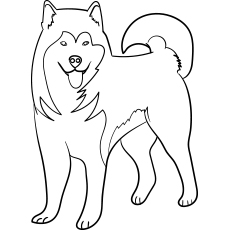 dog printable coloring pages # 5