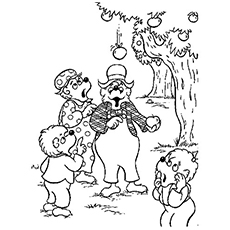 bears coloring pages # 18