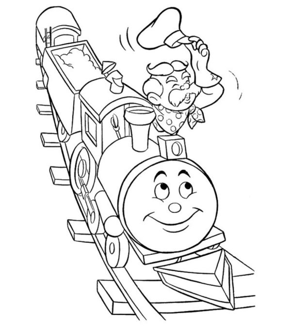 train coloring pages # 20