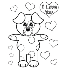 coloring pages for valentines day printable # 9