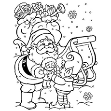winter coloring pages free printable # 2