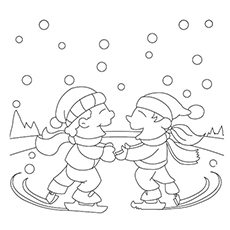 free printable winter coloring pages # 24
