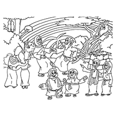 noah and the ark coloring pages # 37