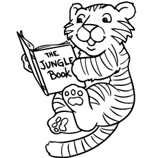 baby tiger coloring pages # 4