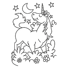 free unicorn coloring pages # 0