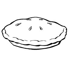 pie coloring page # 19