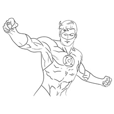 coloring pages of superheroes # 10