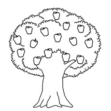 coloring pages of trees # 1