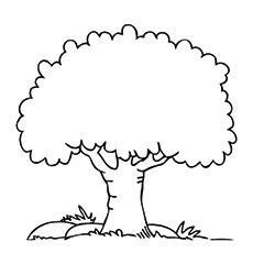 trees coloring pages # 5