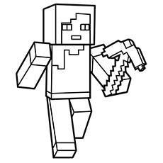 minecraft printable colouring sheets # 4