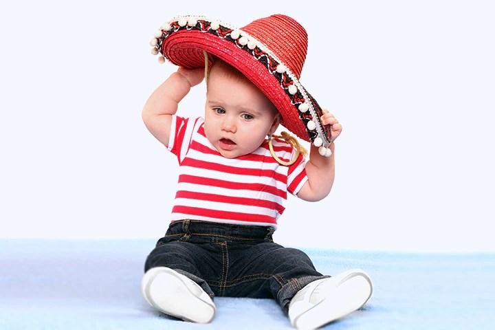 Spanish Boy Mexican Baby