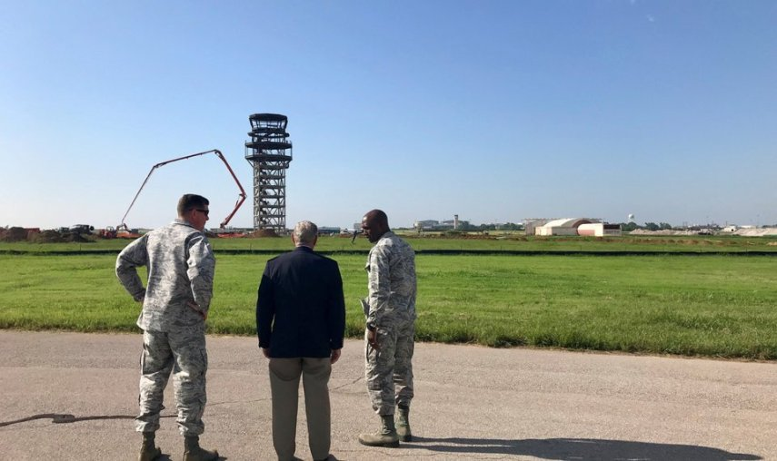 Oklahoma Politics and National Political and Government News      The landscape is changing  at Tinker AFB as it continues to expand