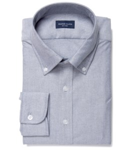 Charcoal Heavy Oxford Tailor Made Shirt by Proper Cloth