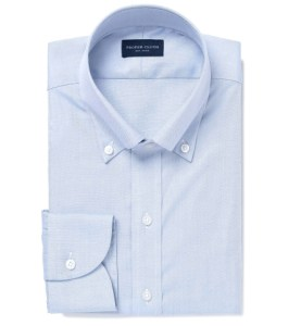 Mercer Blue Pinpoint Tailor Made Shirt by Proper Cloth