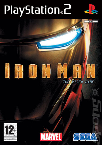 Covers Amp Box Art Iron Man The Video Game Ps2 2 Of 2