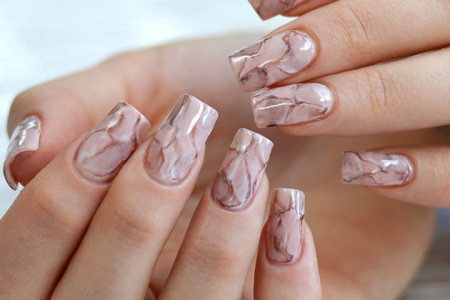 Marble Painting Marble Nails Marble Electronic Wallpaper