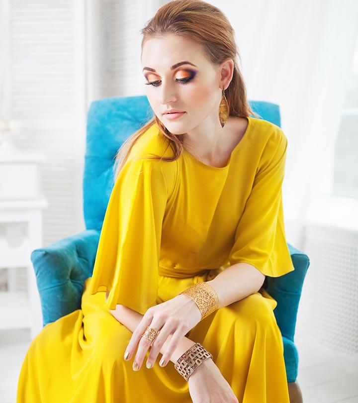 Yellow Dress Nail Color