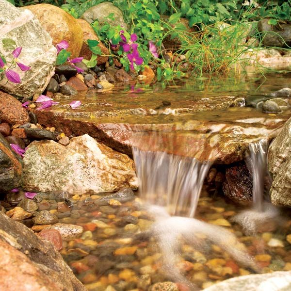How Build Garden Stream