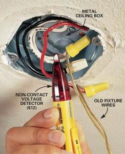 How to Hang a Ceiling Light Fixture   The Family Handyman Photo