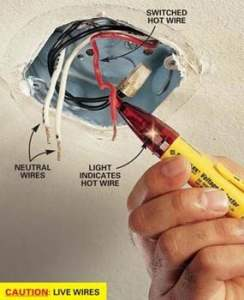 How to Hang a Ceiling Light Fixture   The Family Handyman How to Hang a Ceiling Light Fixture