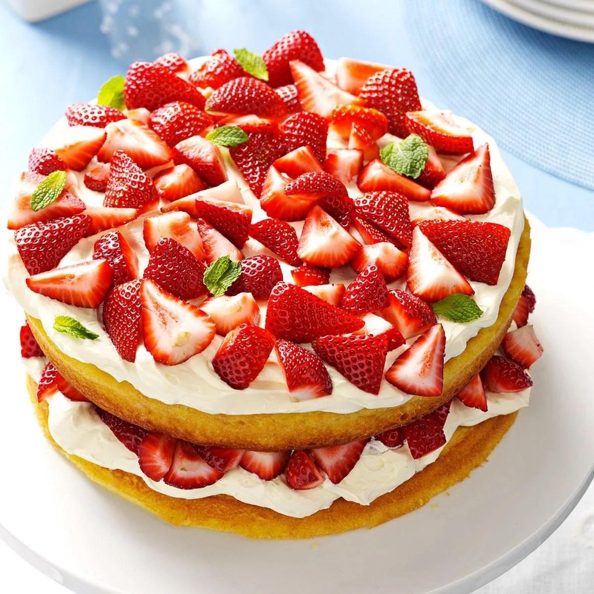 Quick Strawberry Shortcake Recipe