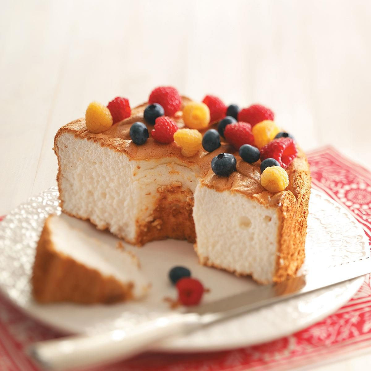 Gluten Free Angel Food Cake Recipe Taste Of Home