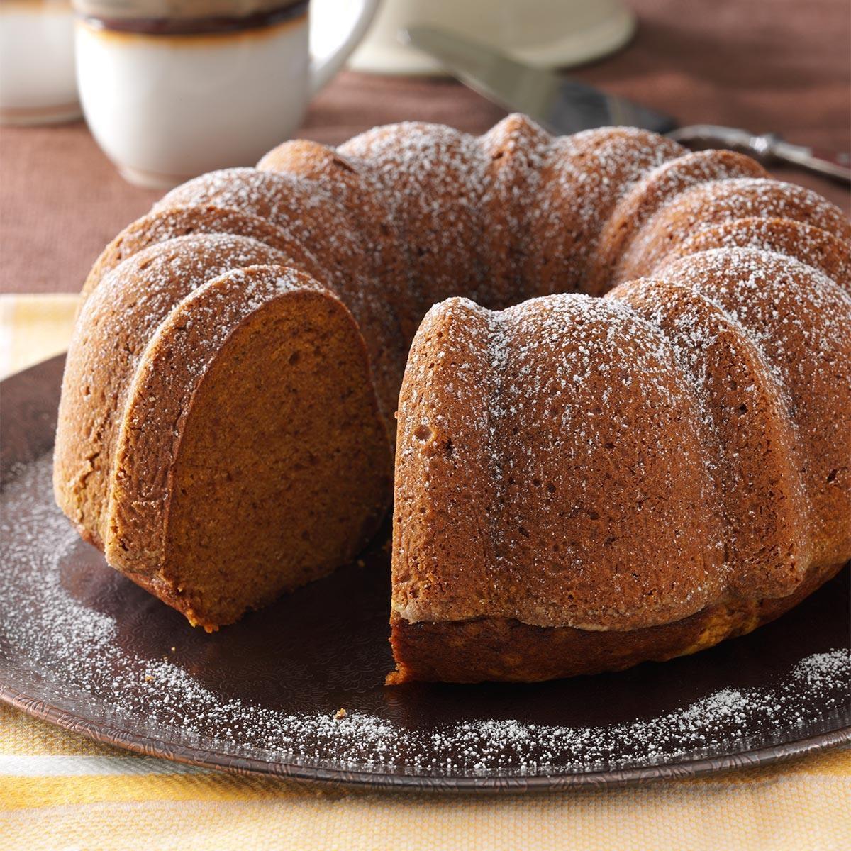 Iced Apple Cake Recipe