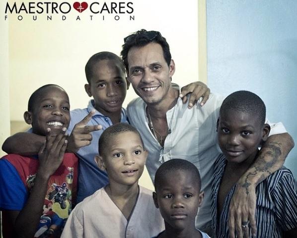 Maestro Cares Fundaci 243 N De Marc Anthony Construir 225