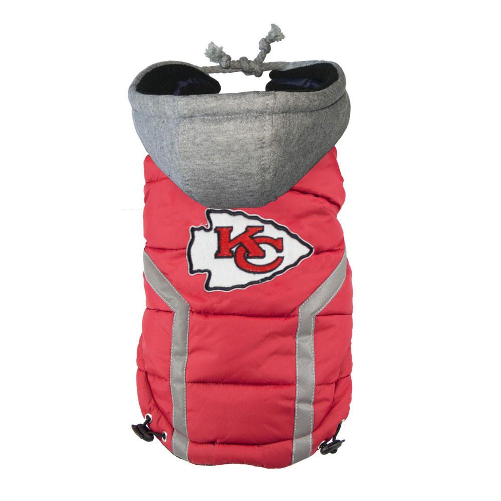 Kansas City Chiefs Fur Coat