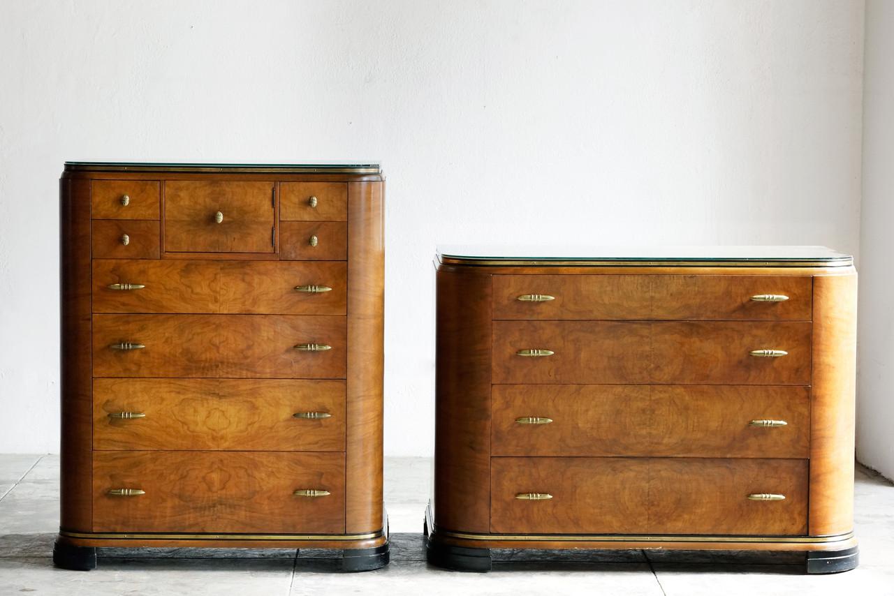Art Deco Painted Dresser