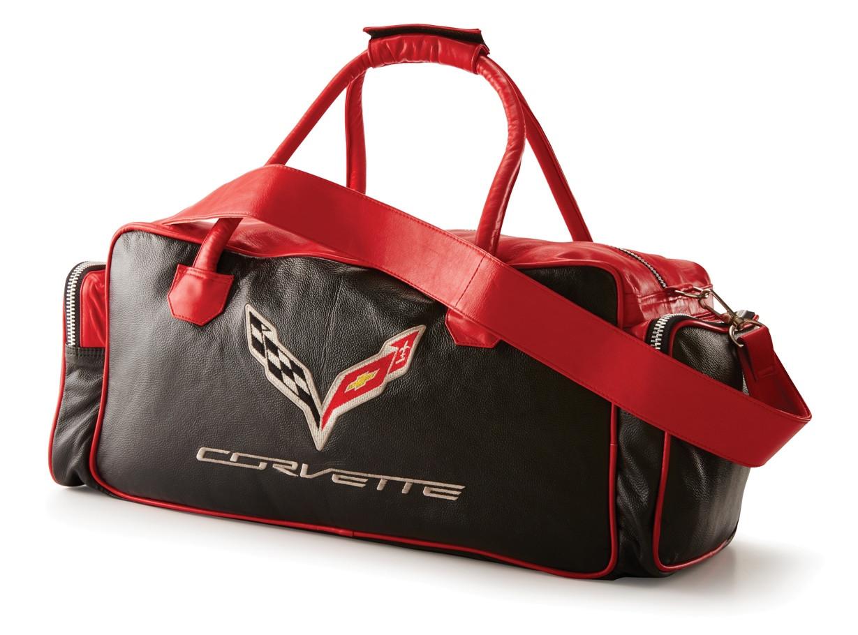 Bag Leather Corvette C6