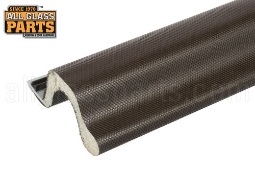Kerf Mounted Weatherseal Extended Reach Brown