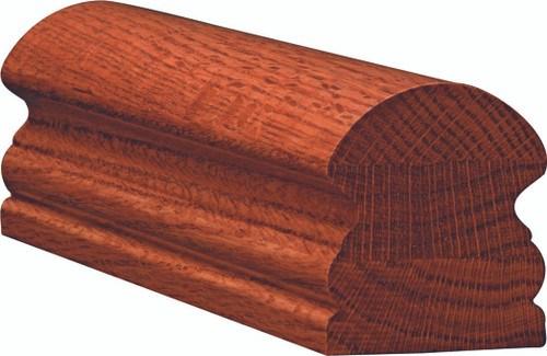 6519 Mahogany Traditional Handrail Westfire Stair Parts | Mahogany Handrails For Stairs