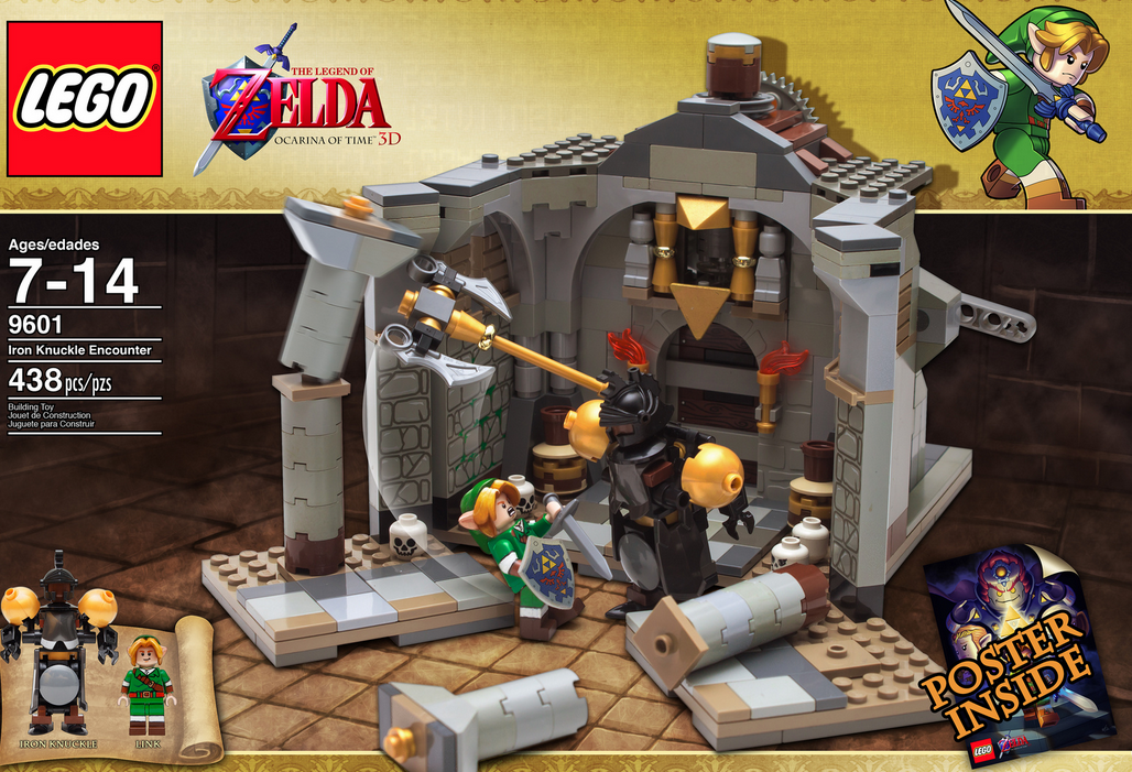 The Legend of Zelda LEGO Set Fails Approval After Official Review