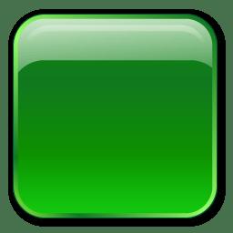 Box, orange, square icon