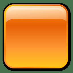 Box, orange icon