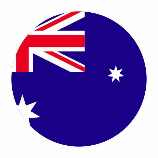 Kangaroo Country Flag Stars And